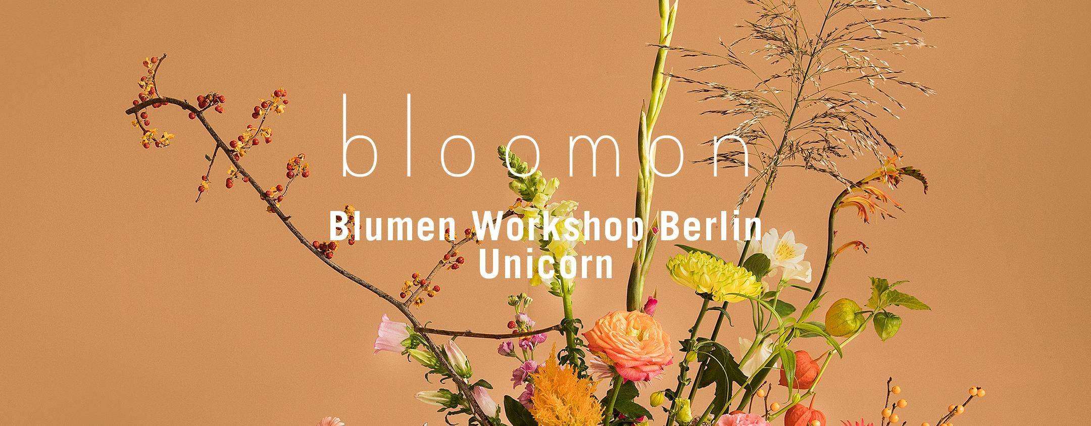 bloomon Workshop 20. September | Berlin, unic