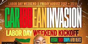Reggae ,Soca ,Kompa and Afro beats Labor Day weekend...