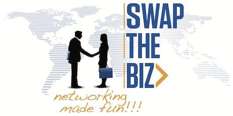 Swap The Biz Business Networking Event - Westfield, New Jersey - 1st Mondays tickets