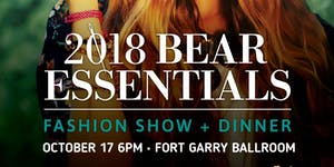 2018 Bear Essentials Fashion Show and Dinner
