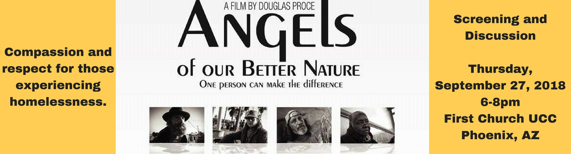 Angels of Our Better Nature Screening