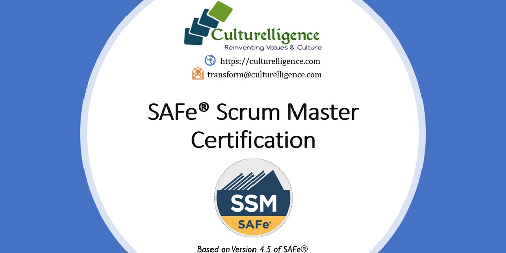 WEEKEND] SAFe Scrum Master with SSM Certification: Manchester, NH ...