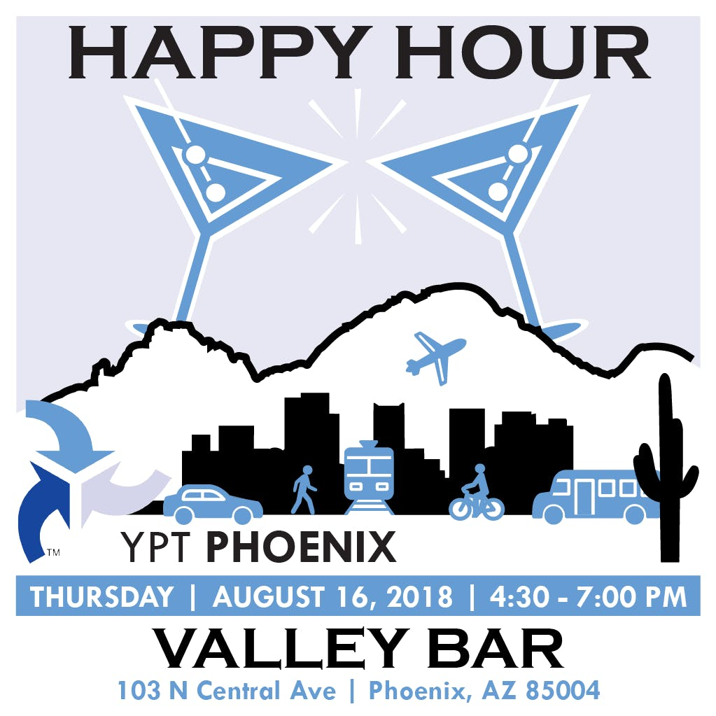 Young Professionals in Transportation, Phoenix - Happy Hour