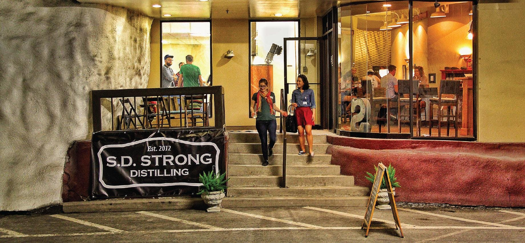 SD Strong Distilling Happy Hour with USBG St.