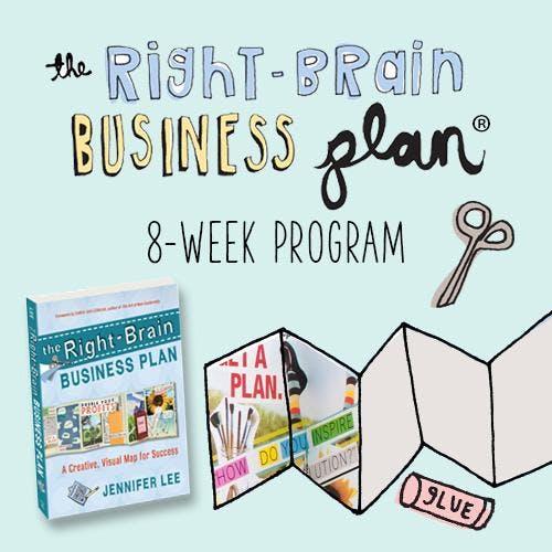 Right Brain Business Plan - 8-week Online Ser