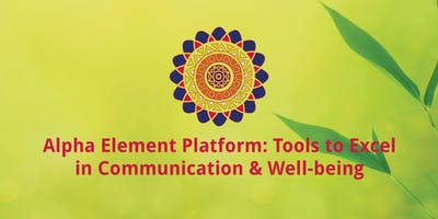 Alpha Element training on communication as a bridge to proactive behavior