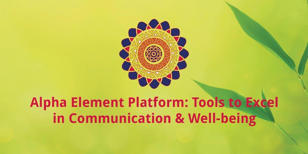 0c87eaeb9456 Alpha Element training on communication as a bridge to proactive behavior