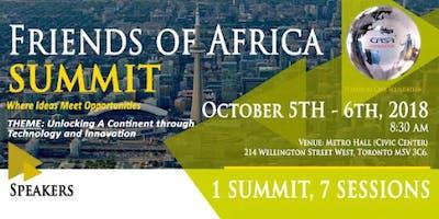 Friends of Africa Summit (FOA2018)