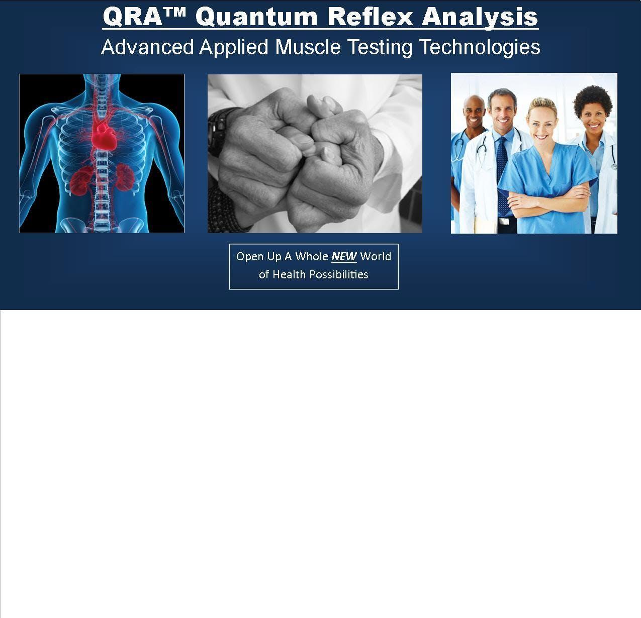 QRA™ Quantum Reflex Analysis Workshop #4 - Qu