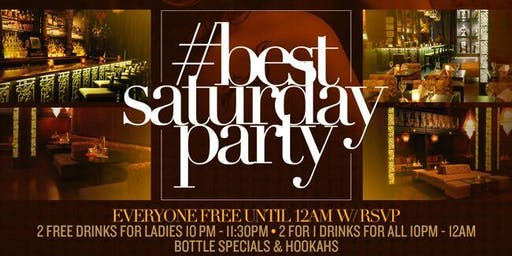 #BESTSATURDAYPARTY | TAJ on Saturdays | #MTARocky