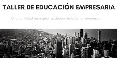 Taller de Educación Empresaria #Mardel entradas