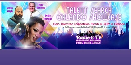 Radio & TV Entertainment Networking Event Talent Search  tickets