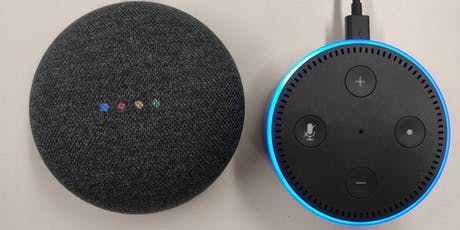 Alexa and Google Home- Learn about smart speakers tickets