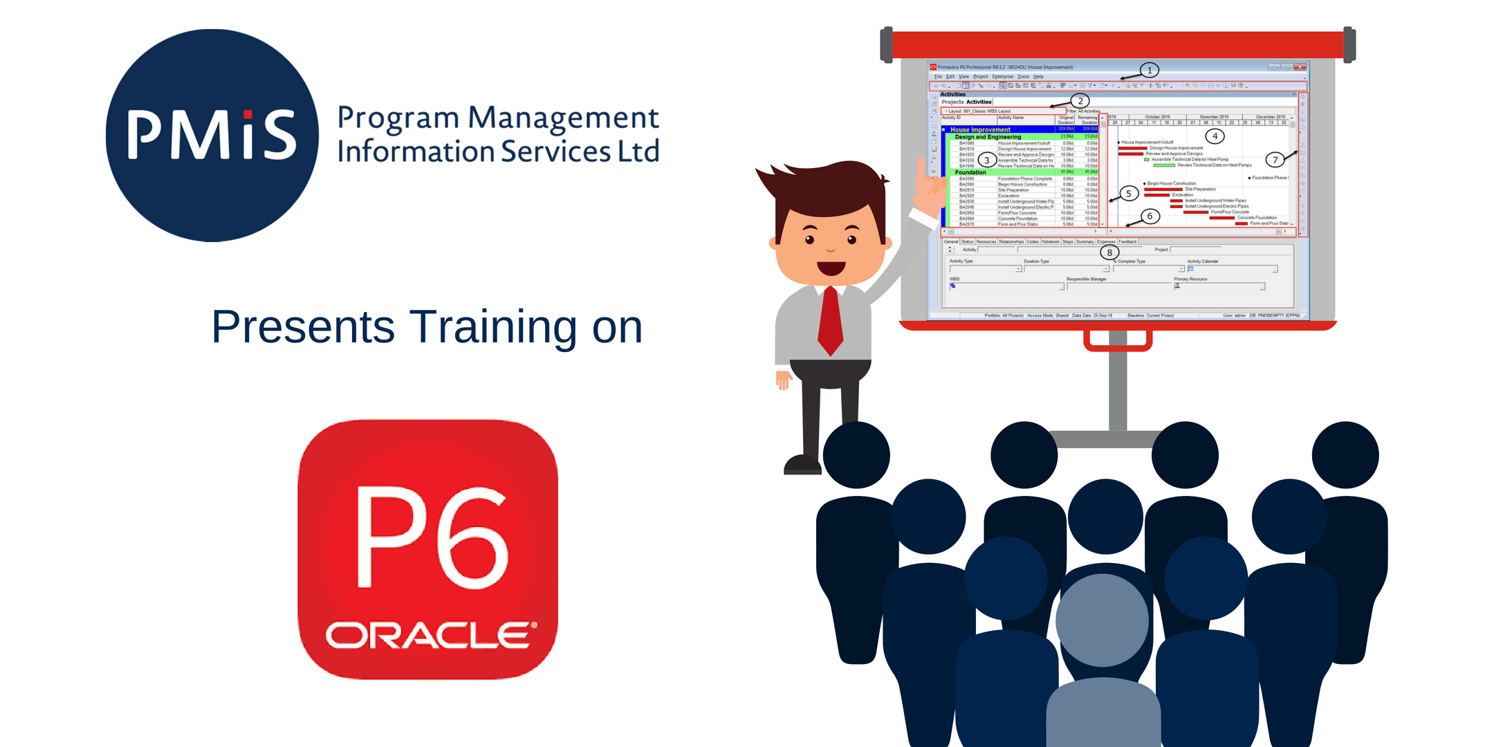 Oracle Primavera P6 Introductory Course, August 20-22