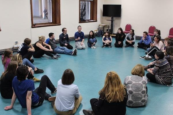 Laying the Foundations:  training weekend for youth theatre practitioners