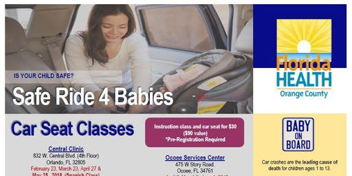Safe Ride 4 Babies - Ocoee Services Center