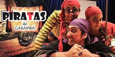 """50% de Desconto! """"Piratas do Caramba"""" no Teatro Folha"""