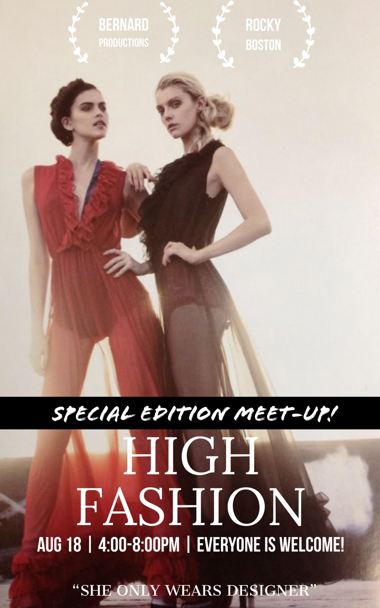 [SPECIAL EDITION] -HIGH FASHION Meet-Up - Hou