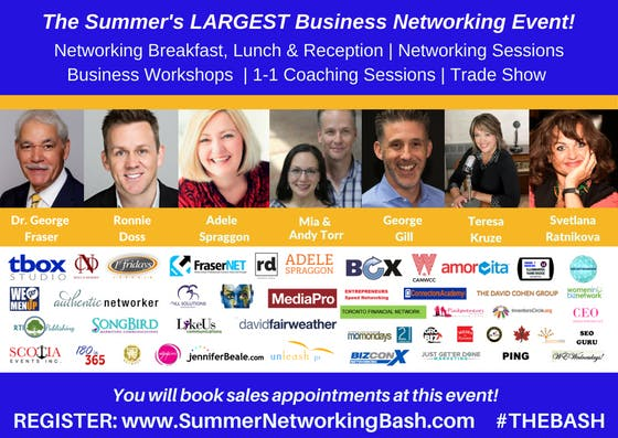 Summer Networking Bash