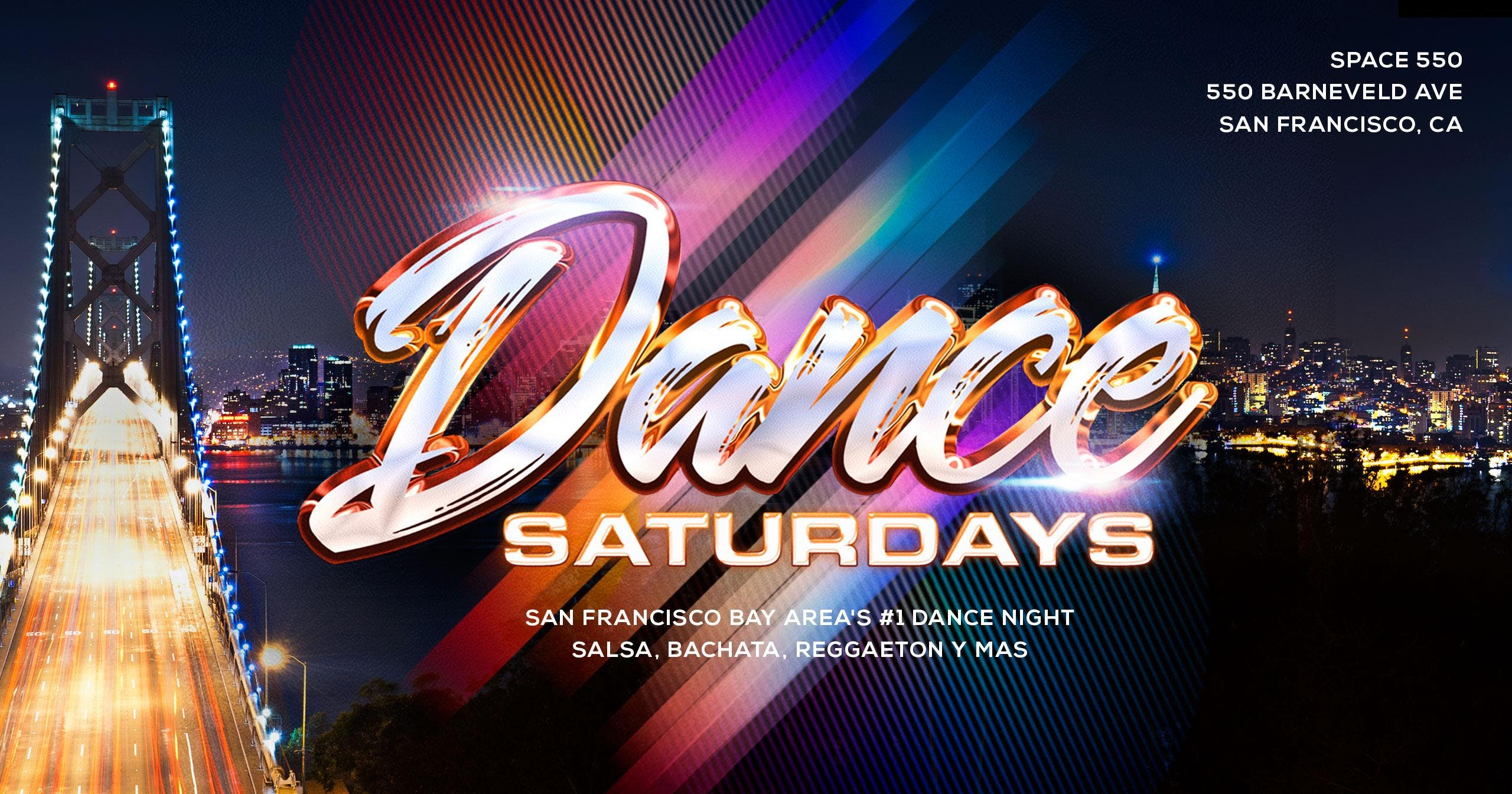 Dance Saturdays - Salsa, Bachata y Latin Mix