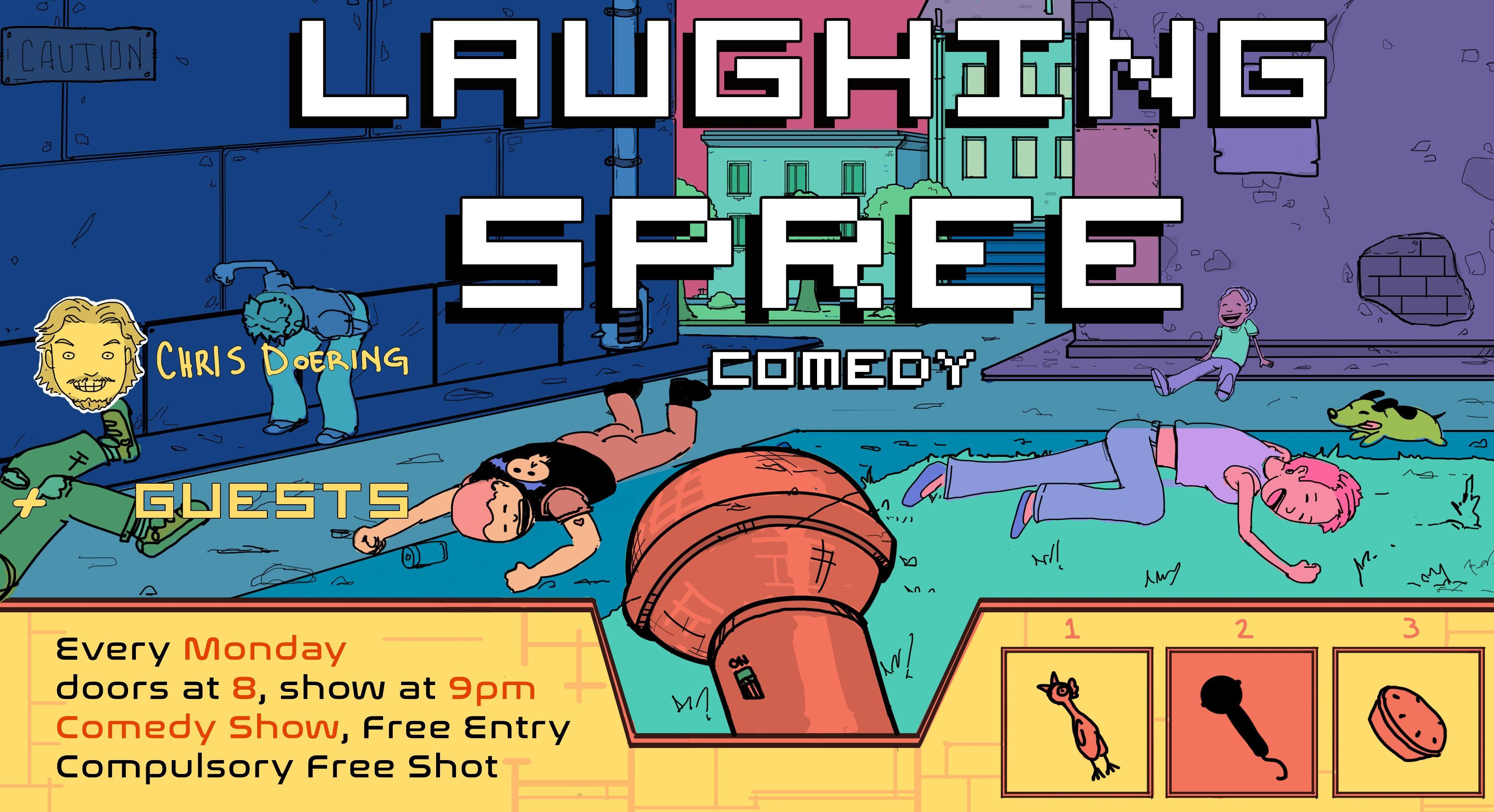 Laughing Spree Comedy - free live English com