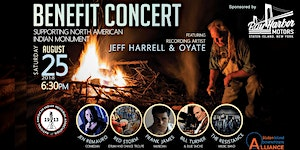 North American Indian Monument Benefit Concert