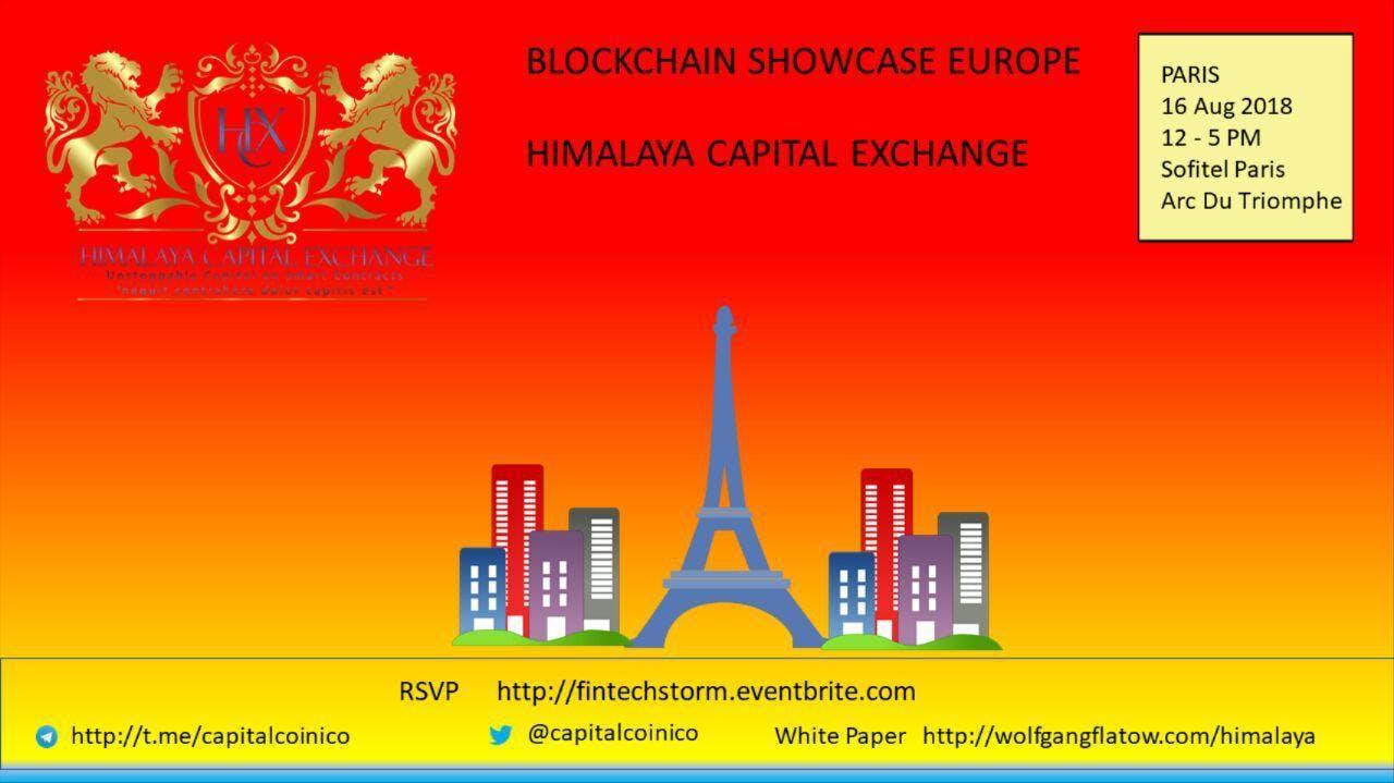 HCX Reception 16 August Paris 3-5pm - Sofitel
