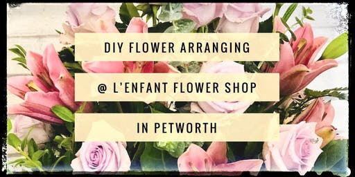 Silver spring md floral design classes events eventbrite diy flower arranging workshop lenfant flower shop mightylinksfo