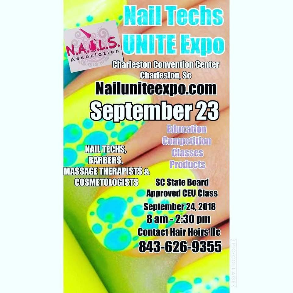 Nail Techs UNITE Expo 2018