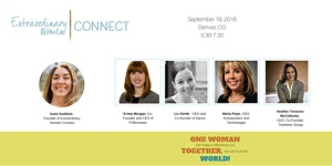 Extraordinary Women Connect™ - Sept 2018