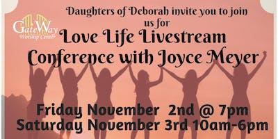 Joyce Meyer's Love Life Livestream Womens Conference - Punta