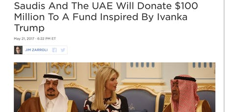 Doyenne? Create Yet To Be Formed Venture Capital Fund like Ivanka Trump tickets