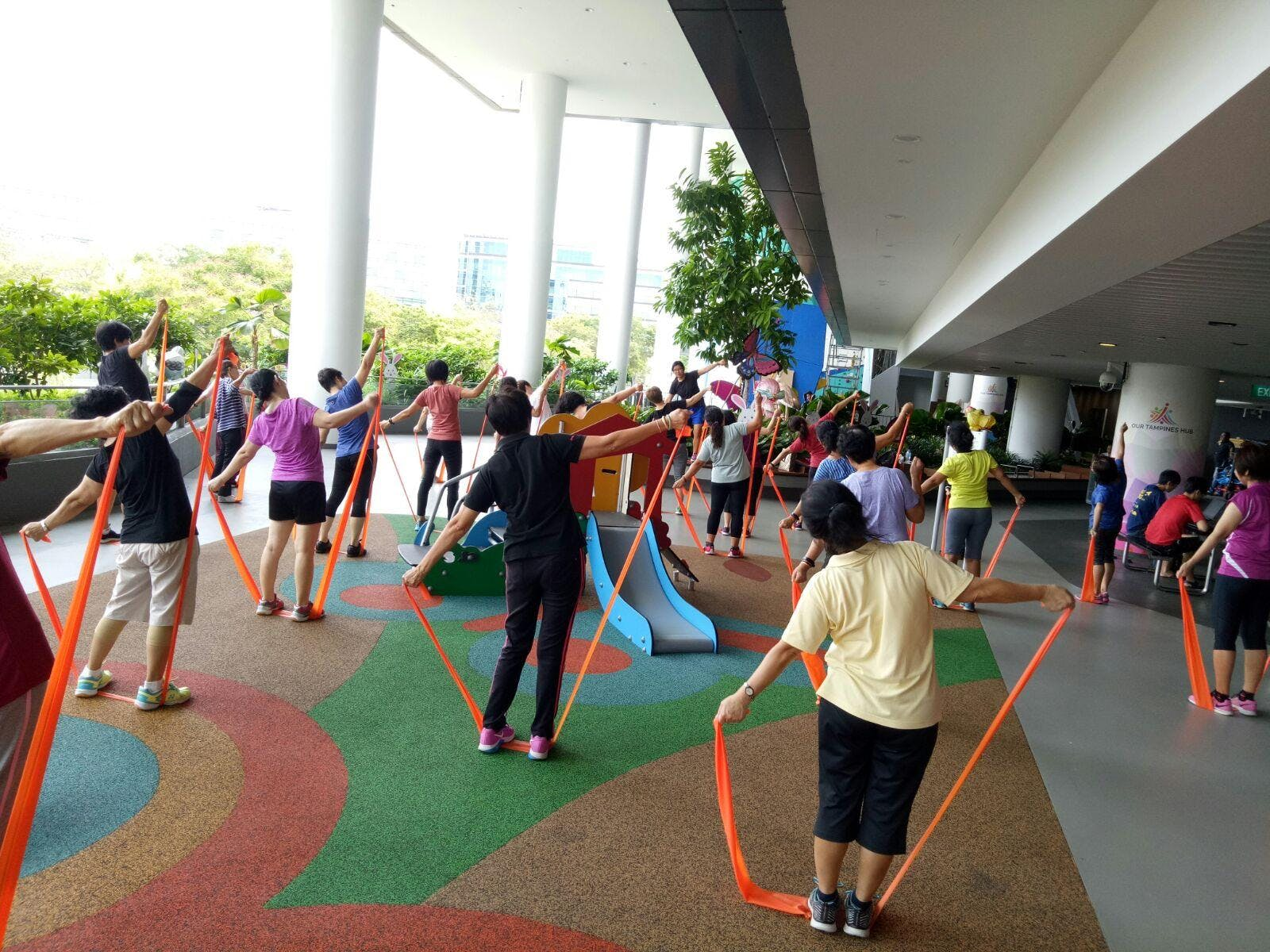 2nd Run Seniors Stretch Band Fitness Instructor Course 25 Aug 2018