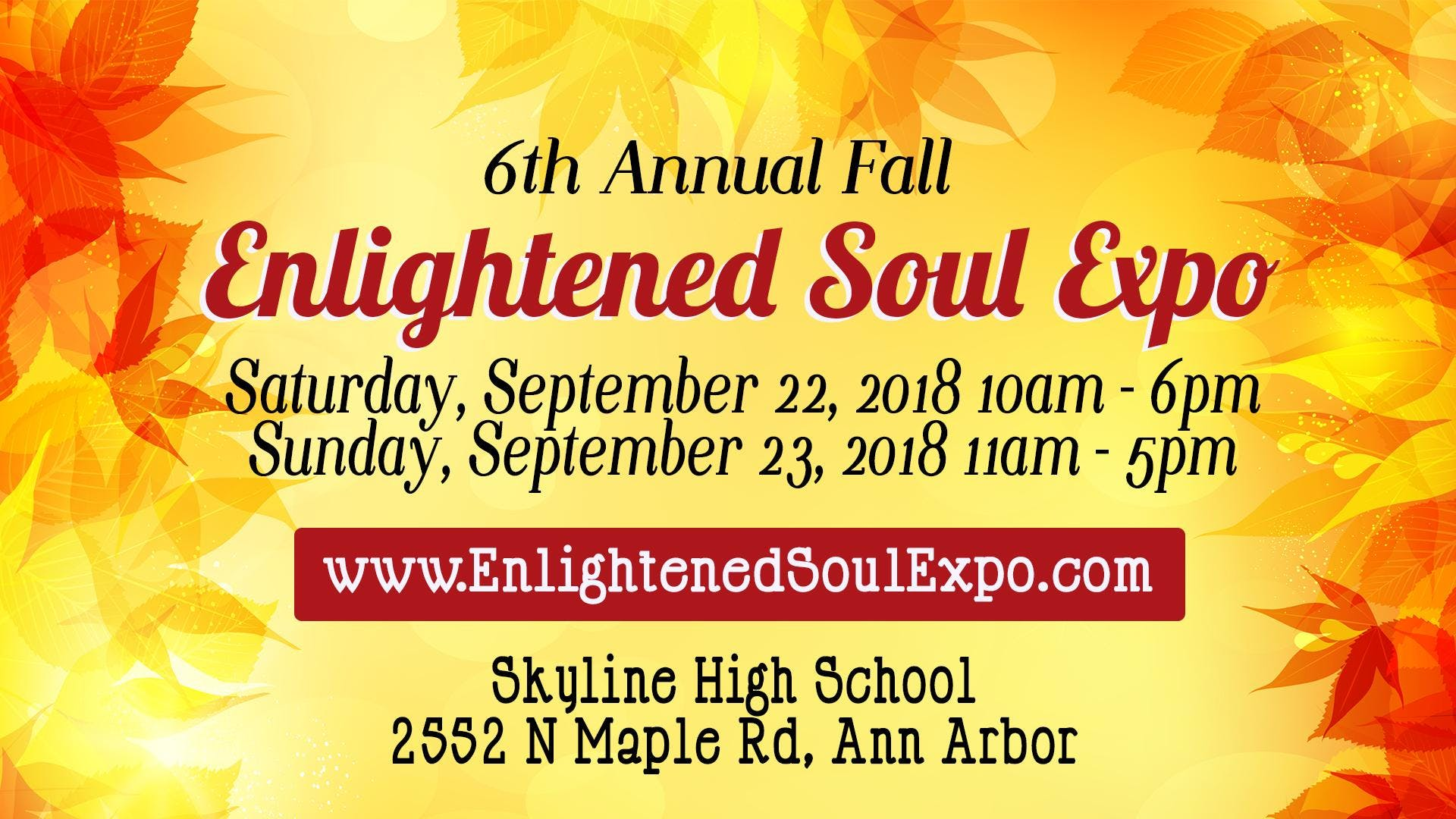 6th Annual Fall Enlightened Soul Expo