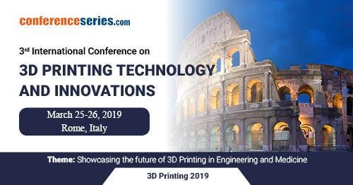 3D Printing Technology and Innovations Expo 3rd International Conference
