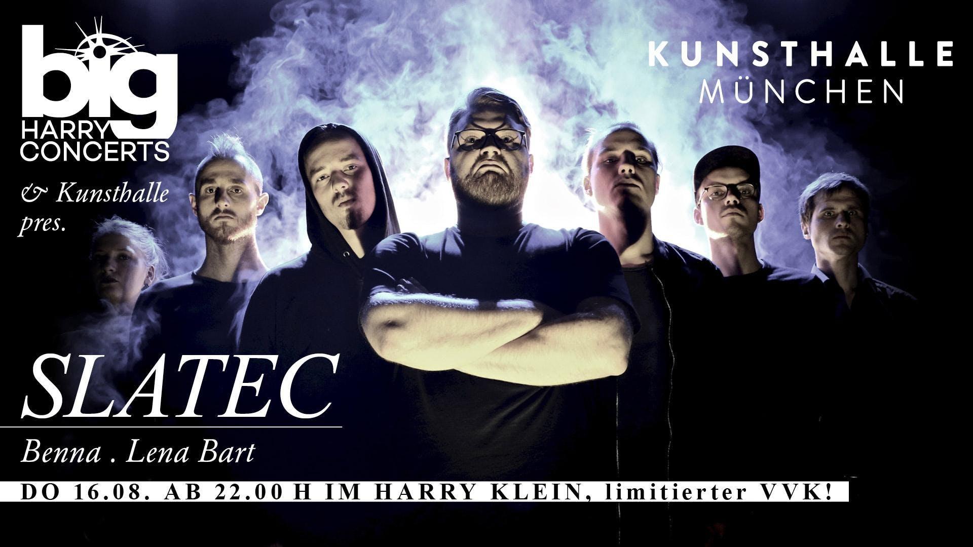 Big Harry Concerts & Kunsthalle pres. Slatec