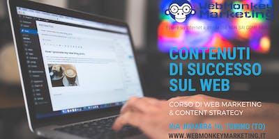 CONTENUTI DI SUCCESSO SUL WEB: Corso di Web Marketing & Content Strategy