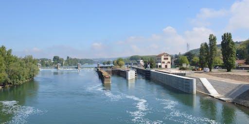 Visite de l'écluse de Couzon - Rochetaillée-sur-Saône
