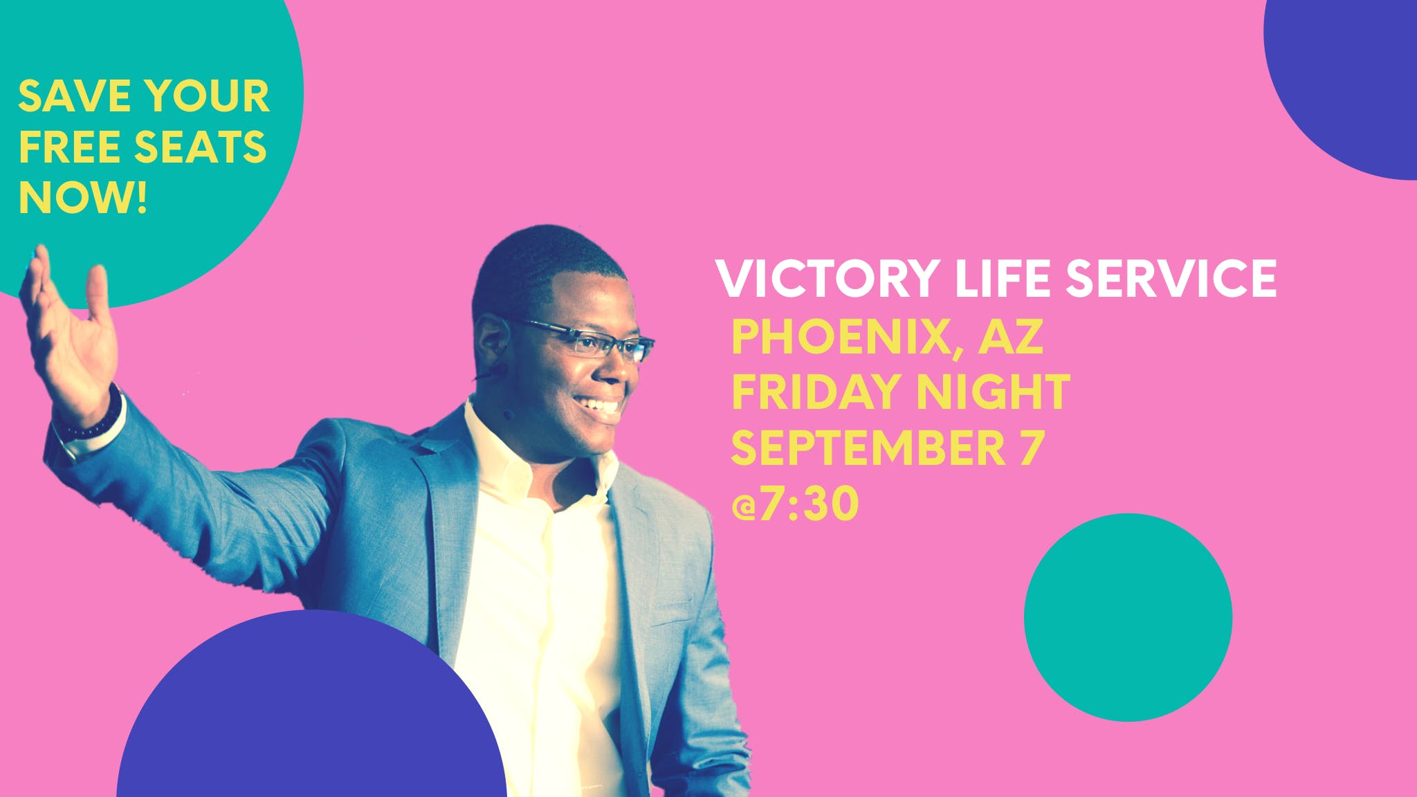 Victory Life Service with Marcus Gill - Phoenix, AZ