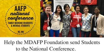 MDAFP Foundation Send Students to National Conference