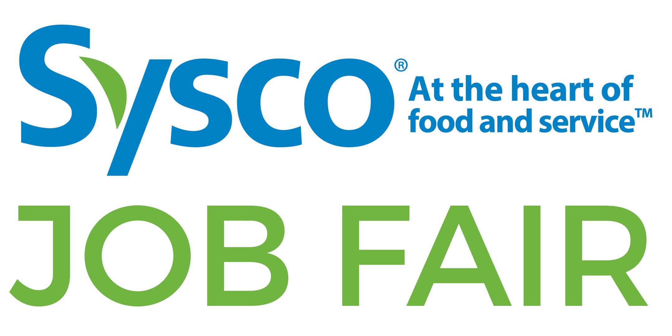 Sysco Job Fair