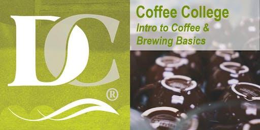 Coffee College- Intro to Coffee & Brewing Basics
