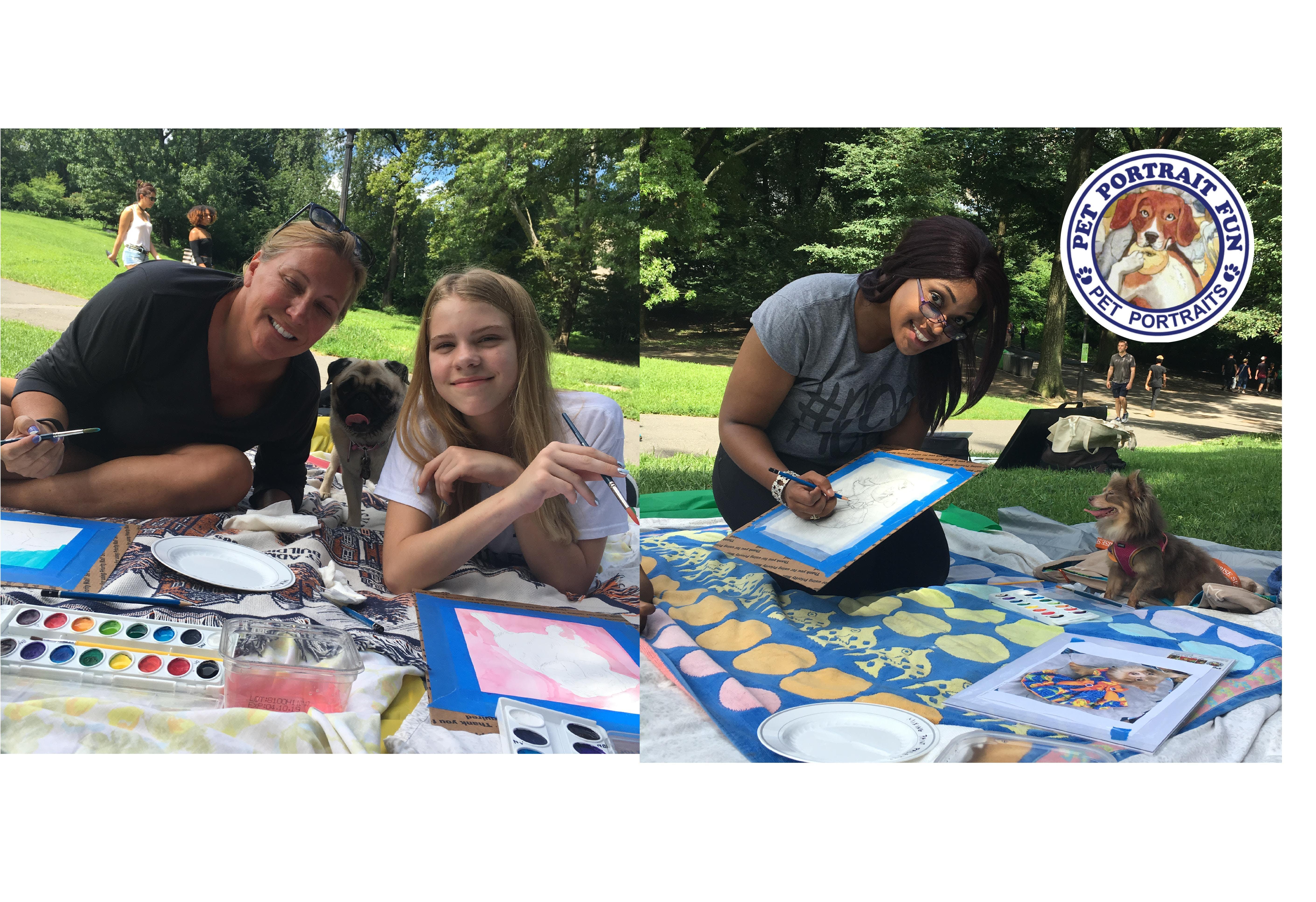 Paint Your Own Pet Pup Picnic- Central Park Aug 18