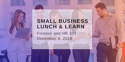 Lunch & Learn: Finance & HR 101