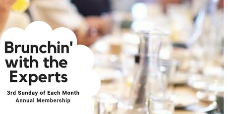 Brunchin' With the Experts Annual Membership (12 Events) tickets