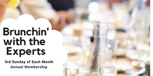 Brunchin' With the Experts Annual Membership (12 Events)