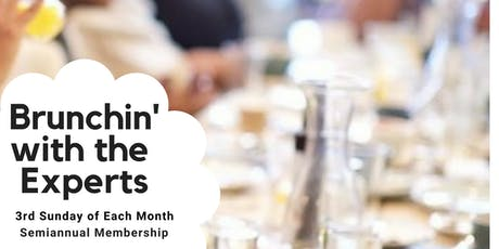 Brunchin' With Experts Semi-annual Membership (6 Events) tickets