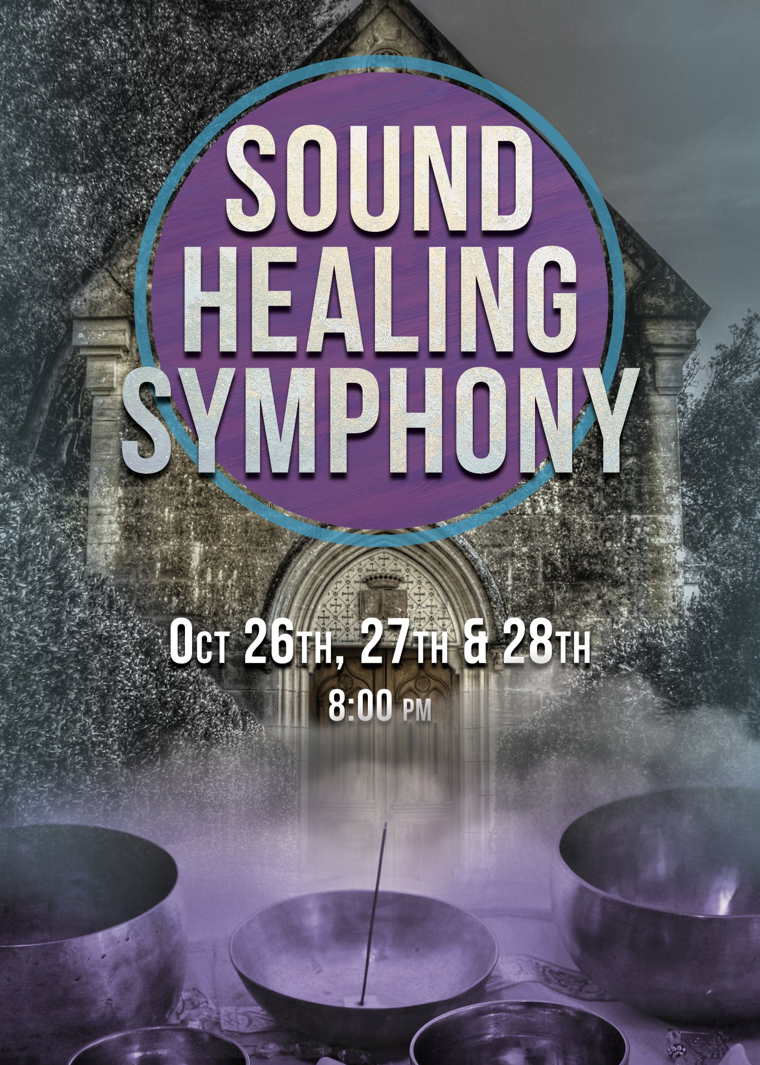 Sound Meditation Concerts (Oct 26th, 27th & 2