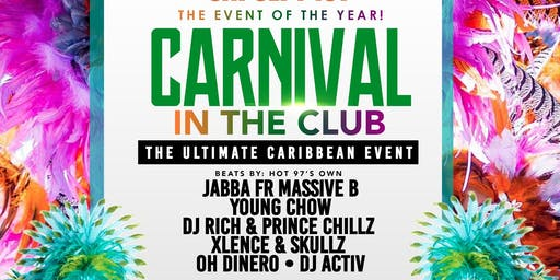 CARNIVAL IN THE CLUB