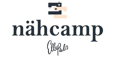 Zeit zum Nähen: Nähcamp Frankfurt 23.-25.08.2019